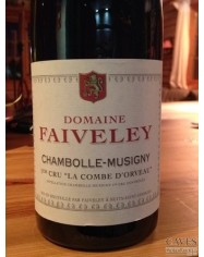 CHAMBOLLE MUSIGNY 1er Cru La Combe d'Orveau 2012