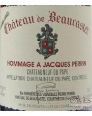 CHATEAUNEUF DU PAPE Hommage à J. Perrin 2013